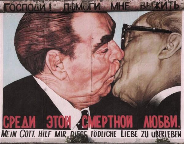 Breschnew und Honecker