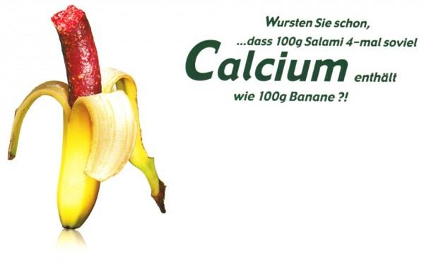 Wurstige Banane