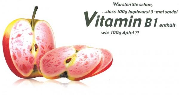 Wurstiger Apfel