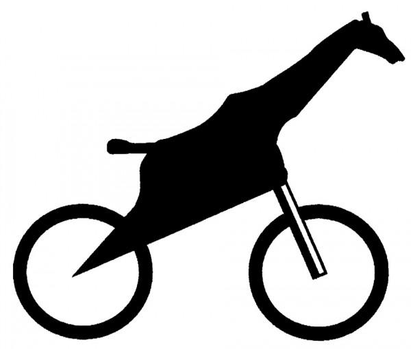 Giraffenfahrrad
