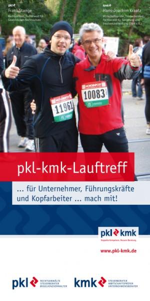 PKL-KMK Lauftreff Flyer
