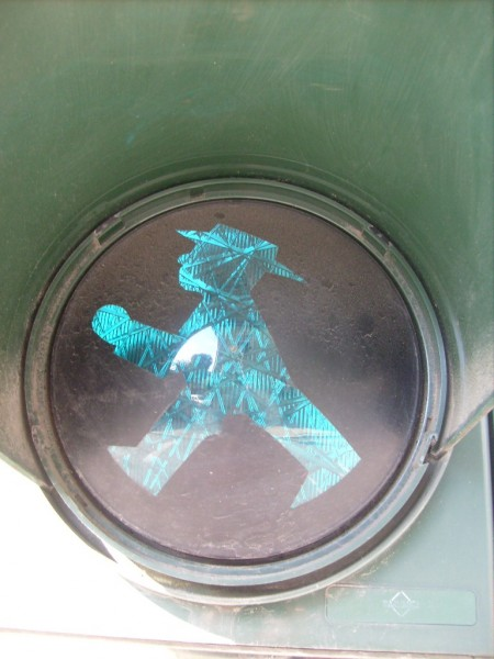 Fußgänger-Ampelmännchen