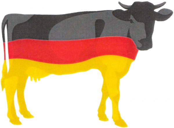 schwarz-rot-goldene Kuh