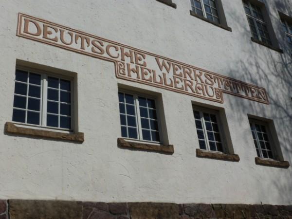GebäudeEnsemble Deutsche Werkstätten Hellerau