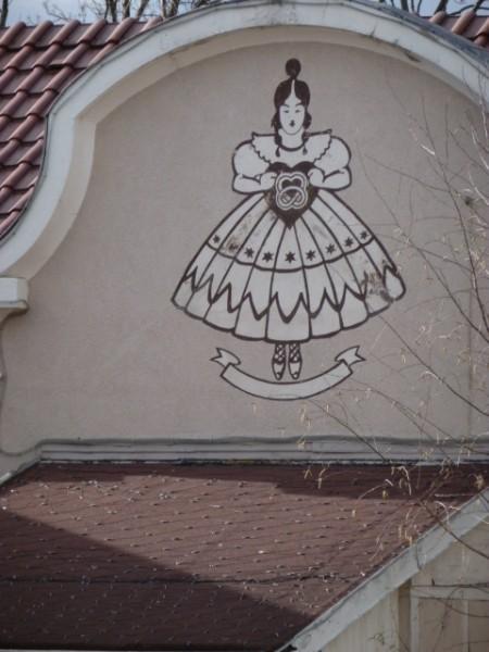 Lebkuchenfrau-Logo
