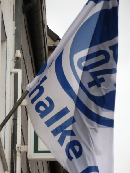 Schalke 04 Fahne