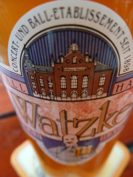 Bier der Hausbrauerei Watzke