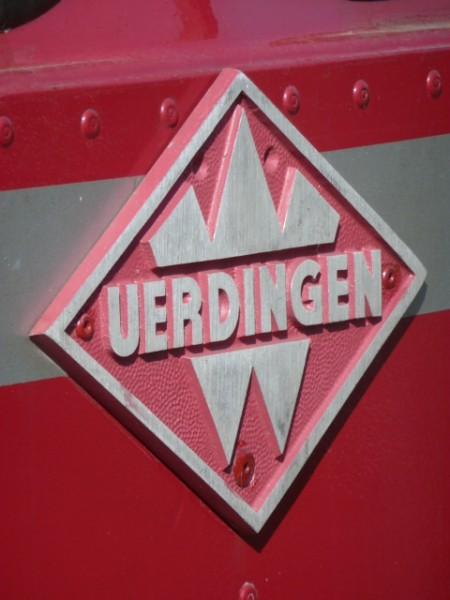 """Schienenfahrzeug """"UERDINGEN"""""""