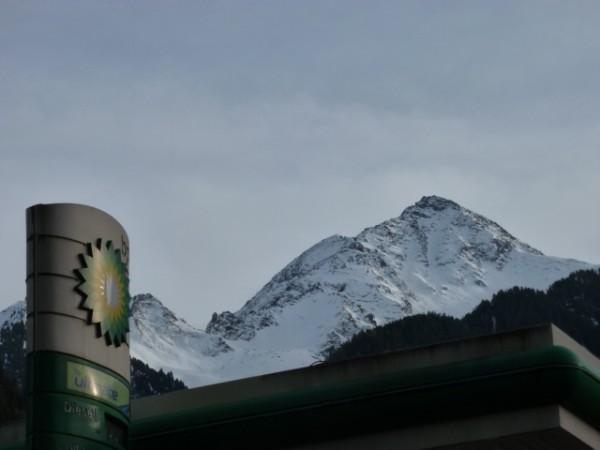 BP Tankstelle Mayrhofen im Zillertal
