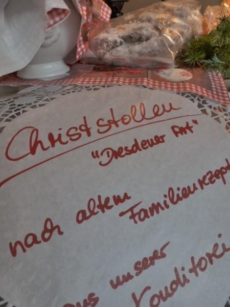 Christstollen Dresdener Art