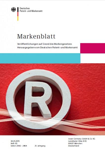 Markenblatt 05-2015