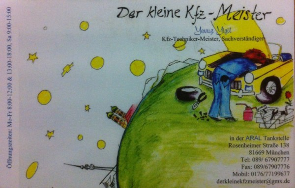 Der kleine KfZ-Meister - Adresse