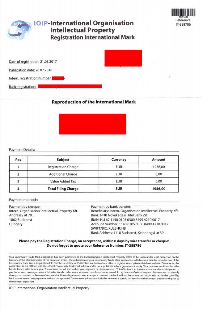 IOIP – International Organisation Intellectual Property