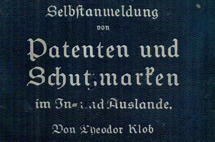 Markenrecherche 1924